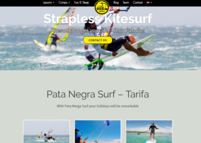 Patanegrasurf.com